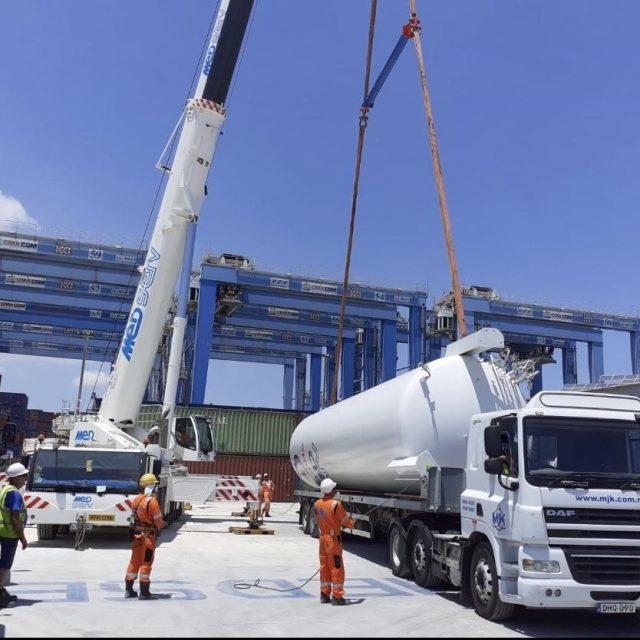 AMT UK delivered 2 tanks to Freeport, Malta
