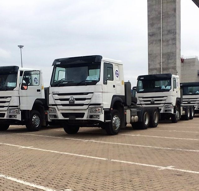 AMT Mozambique have successfully handled the importation of 30 trucks and 15 trailers last week