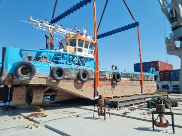 AMT South Africa has successfully coordinated an exceptionally difficult transfer